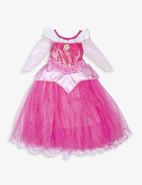 DRESS UP: Princess Aurora fancy dress costume 3-8 years