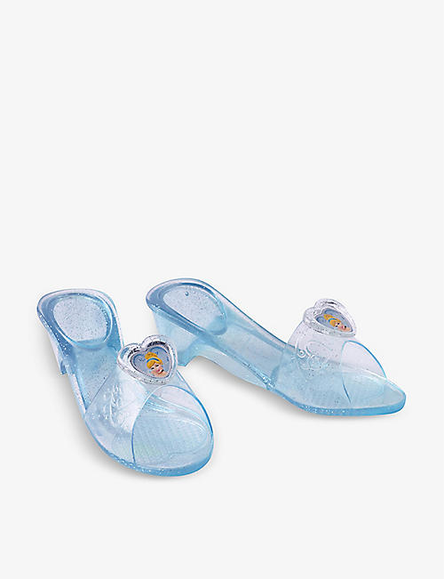 DRESS UP: Cinderella jelly shoes 3-6 years