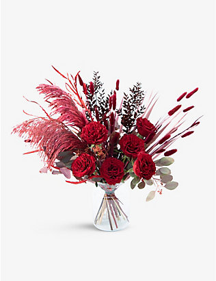 YOUR LONDON FLORIST: Truly Madly Deeply mixed dried and fresh bouquet