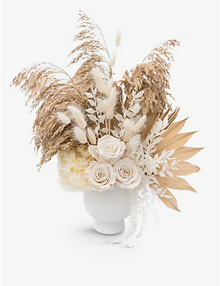 YOUR LONDON FLORIST: Exclusive Honey Do dried arrangement with pot