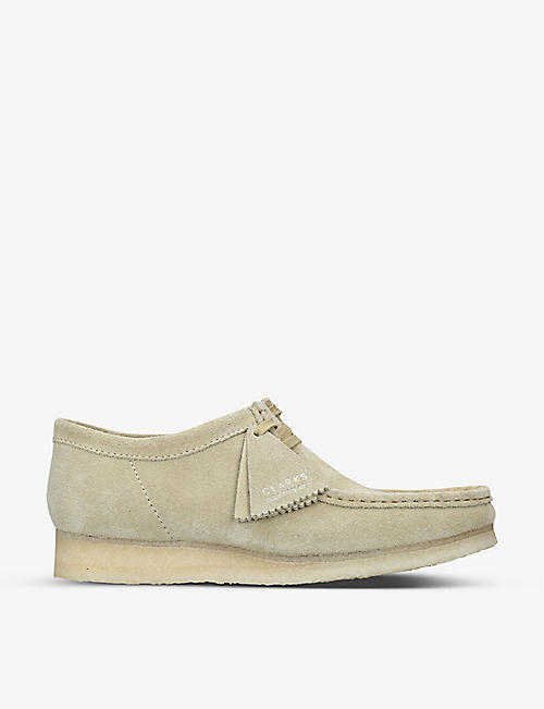 CLARKS ORIGINALS: Wallabee suede boots