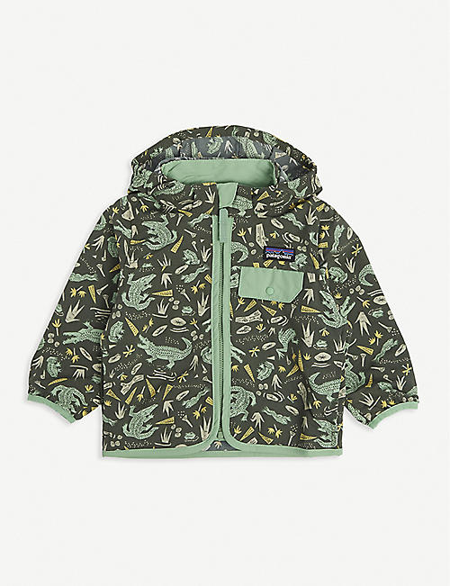 PATAGONIA: Animal-print recycled nylon jacket 6-36 months