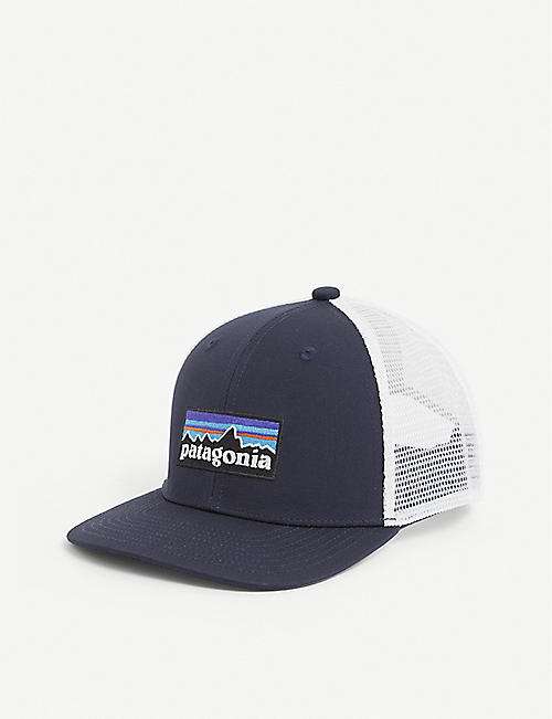 PATAGONIA: Trucker logo-embroidered cotton cap