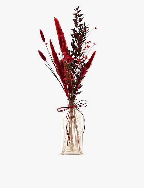 YOUR LONDON FLORIST: Love Note dried bouquet with vase
