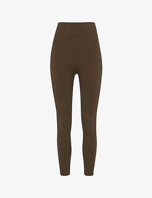 WHISTLES: Studio high-rise stretch-jersey leggings