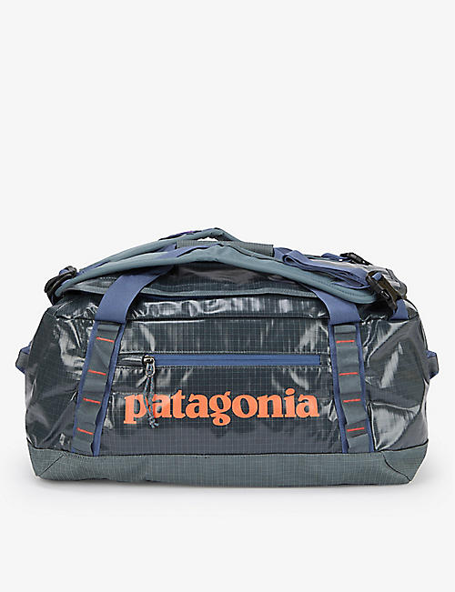 PATAGONIA: Black Hole recycled-polyester duffle bag 40L