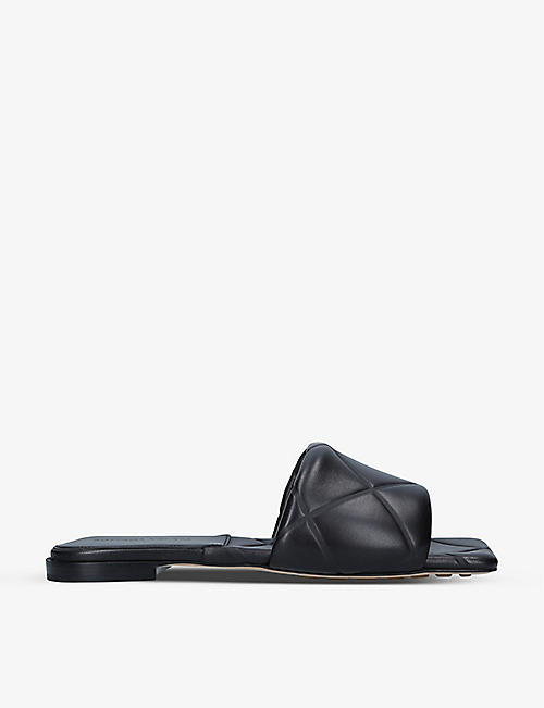 BOTTEGA VENETA: Quilted leather sandals