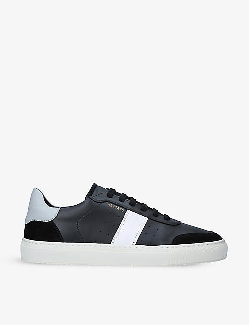 AXEL ARIGATO: Dunk leather and suede trainers