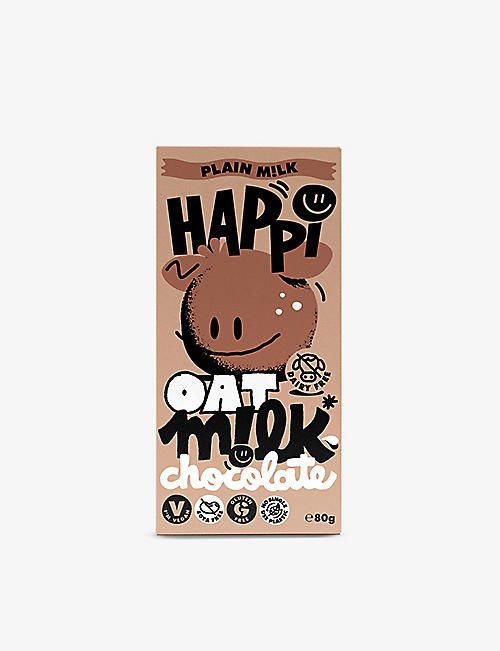 CHOCOLATE: Happi Oat M!lk Choc Bar 80g