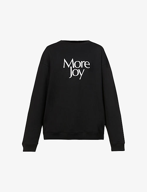 MORE JOY: More Joy-print cotton-jersey T-shirt