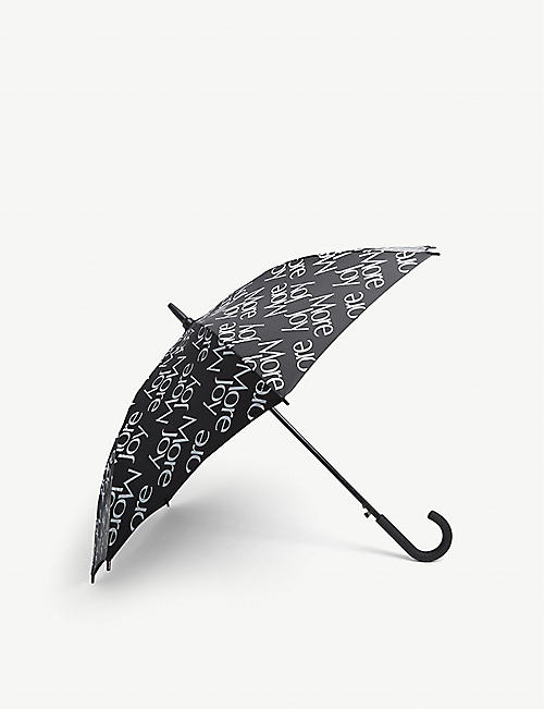 MORE JOY: Slogan-print umbrella