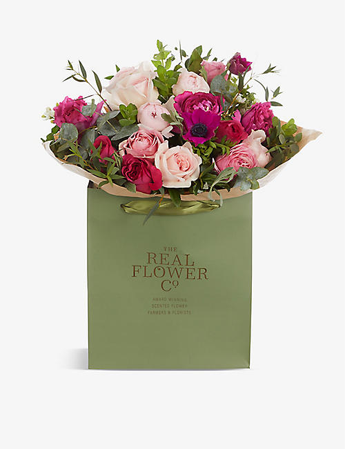 THE REAL FLOWER COMPANY: Love Is medium scented bouquet