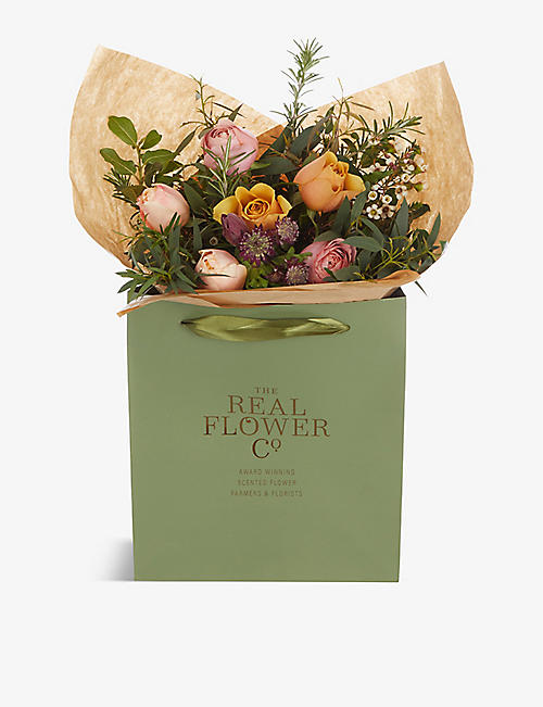 THE REAL FLOWER COMPANY: Valentine's Florist's Choice scented posy