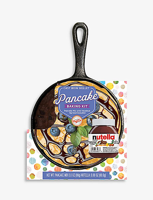 CREATE A TREAT: Pancake mix, Nutella and skillet 93g