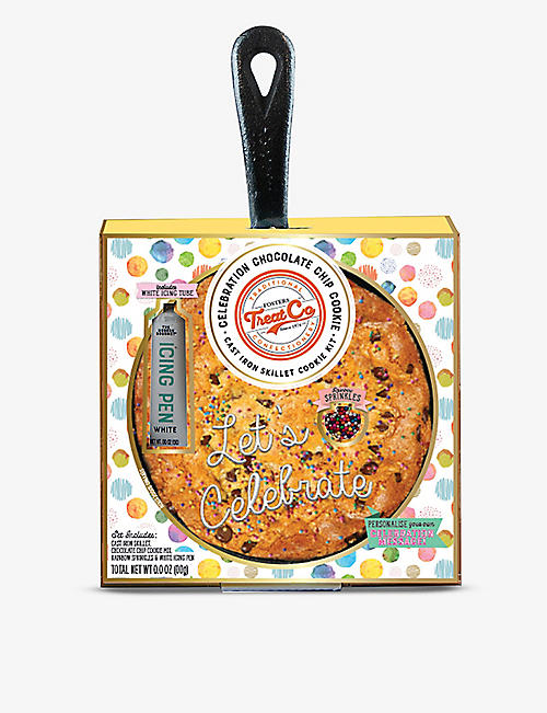 CREATE A TREAT: Cast iron skillet cookie kit 74g