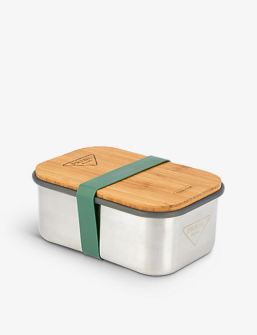 PRADA: Prada x Black+Blum stainless-steel, bamboo and silicone lunch box