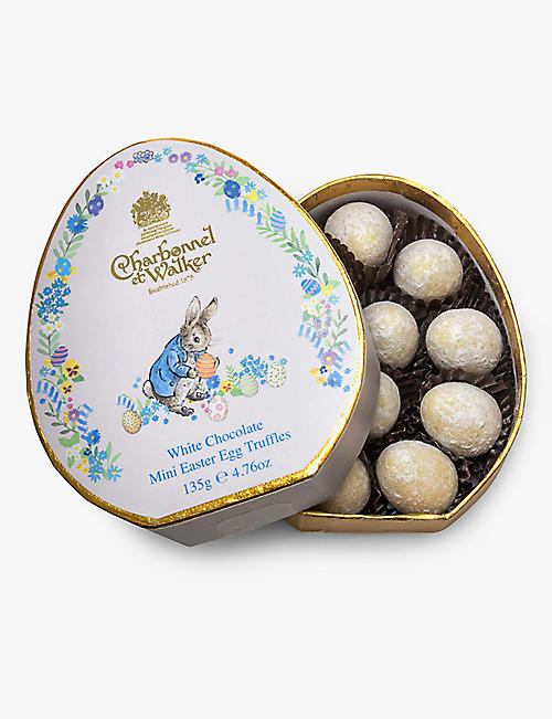 CHARBONNEL ET WALKER: Peter Rabbit Easter white chocolate truffles 100g