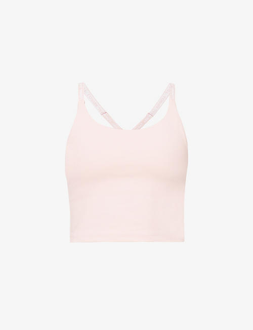 LORNA JANE: V-back stretch-jersey sports bra