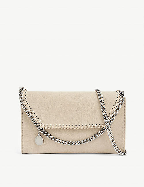 STELLA MCCARTNEY: Falabella faux-leather cross-body bag