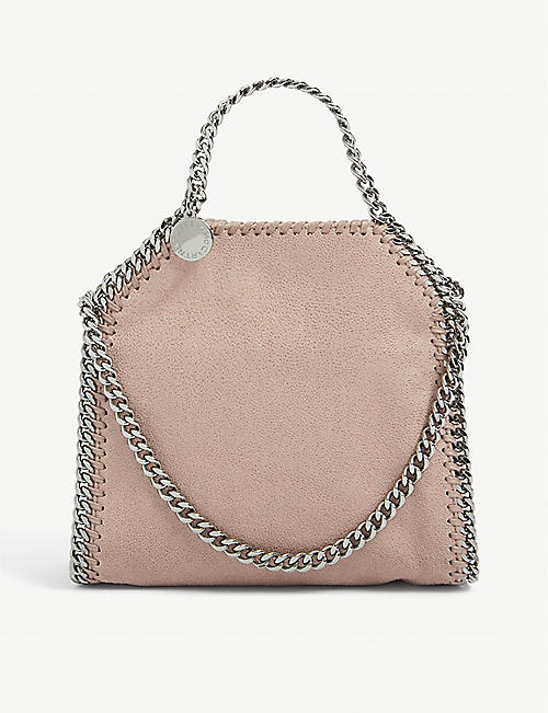 STELLA MCCARTNEY: Falabella tiny faux-leather tote bag