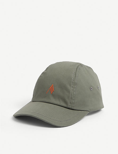 ATTICO: Logo-embroidered cotton baseball cap