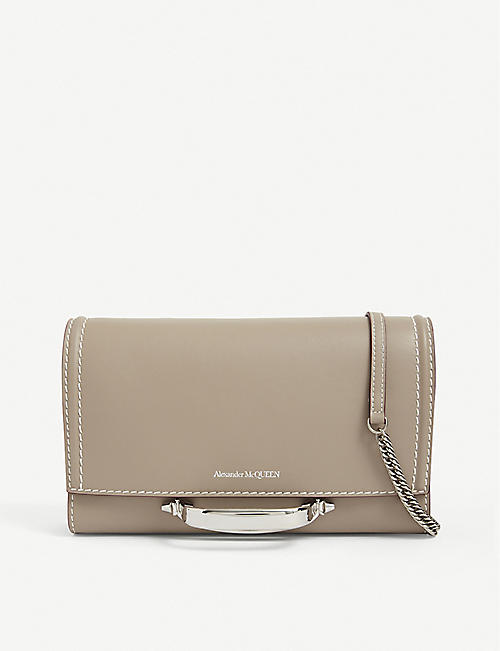 ALEXANDER MCQUEEN: The Story leather cross-body bag
