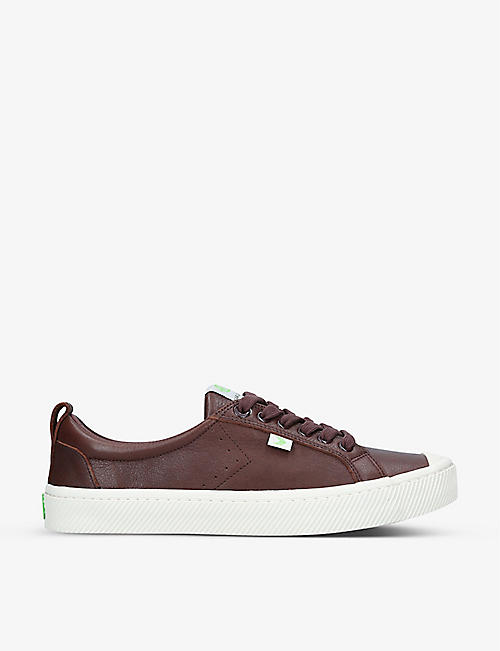 CARIUMA: Men's OCA Low leather trainers