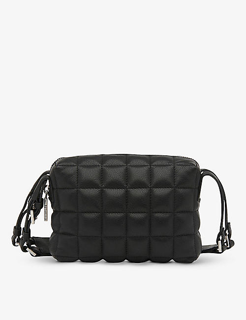 WHISTLES: Elias quilted leather cross-body bag