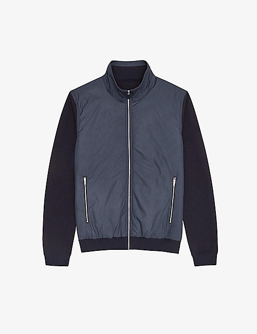 REISS: Baron zipped shell jacket