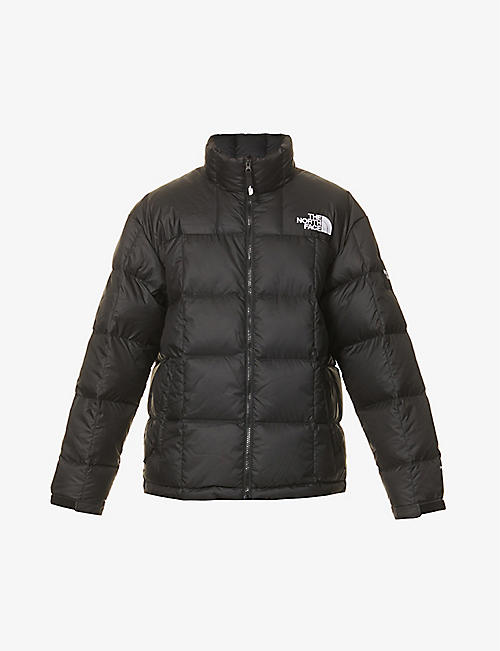 THE NORTH FACE: Lhtose logo-print woven shell jacket