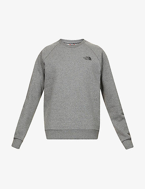 THE NORTH FACE: Logo-print cotton-blend sweatshirt
