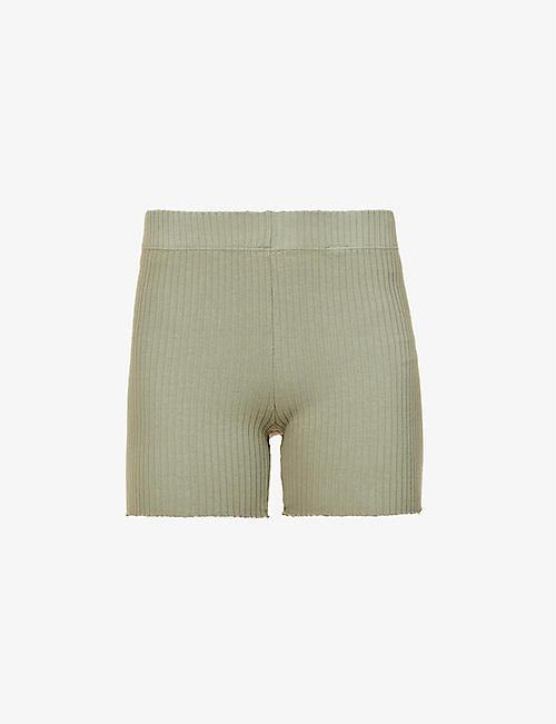 COTTON CITIZEN: Ibiza stretch-cotton cycling shorts