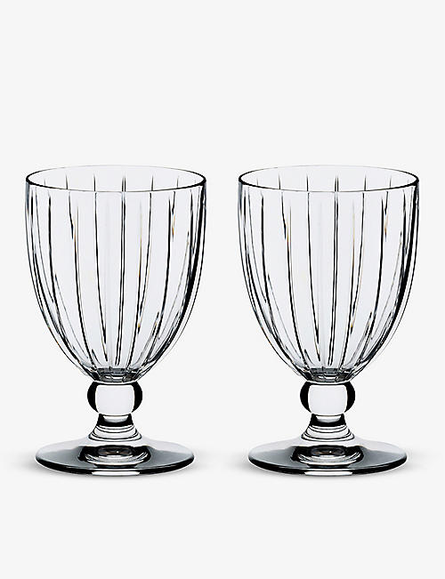 RIEDEL: Sunshine All Purpose crystal glasses set of two
