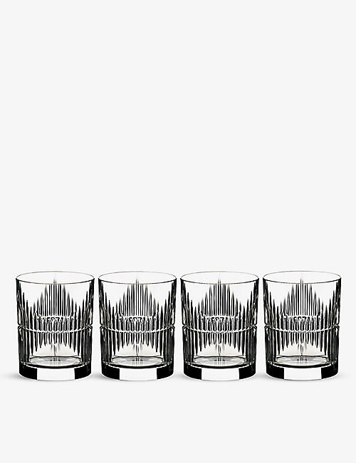 RIEDEL: Mixing Rum crystal glasses set of four