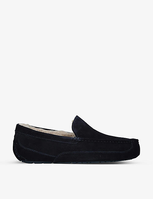 UGG: Ascot shearling-lined suede slippers