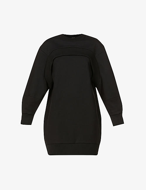 ALEXANDER MCQUEEN: Camac cotton-jersey mini dress