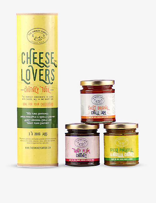 THE SMOKEY CARTER: Cheese Lovers Chutney Tube 3x200g