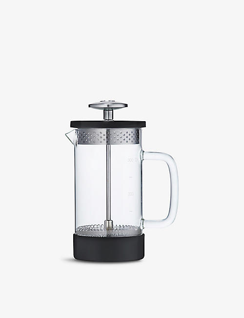 BARISTA & CO: Core three-cup borosilicate glass and stainless-steel coffee press 350ml