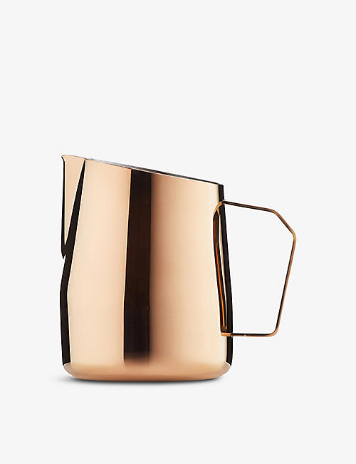 BARISTA & CO: Dial In titanium-coated stainless-steel milk pitcher 420ml