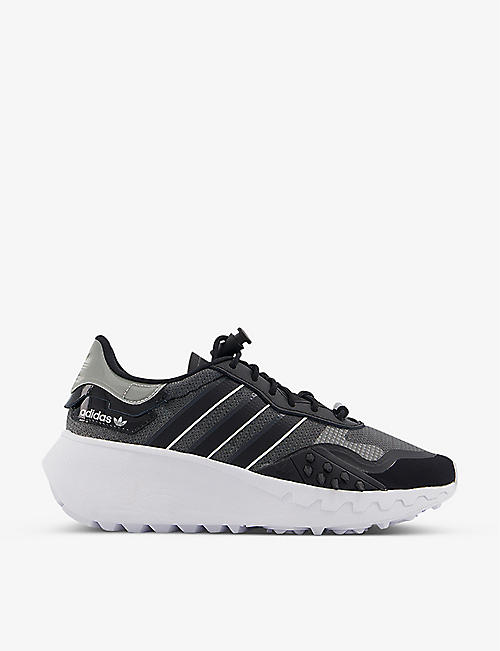 ADIDAS: Choigo textile and mesh trainers