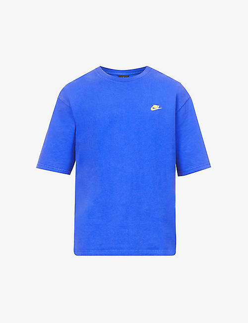 NIKE: Jordan graphic-print cotton-jersey T-shirt