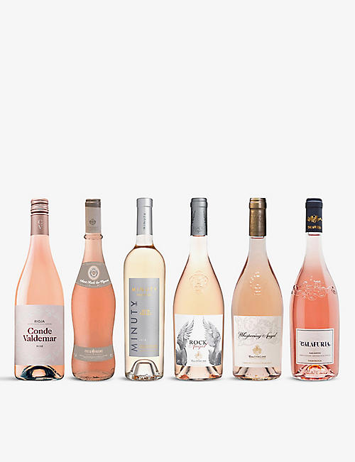 WINE CASE: Pretty Pinks Mixed Case 6x750ml