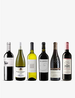WINE CASE: Wine Lovers Mixed Case 6x750ml