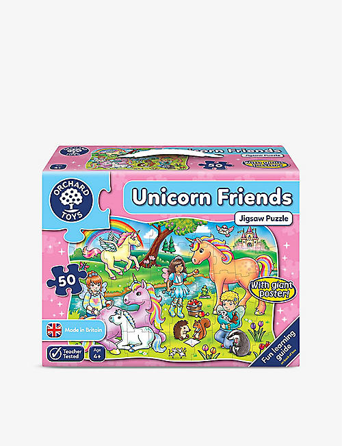 ORCHARD TOYS: Unicorn Friends puzzle 50 pieces