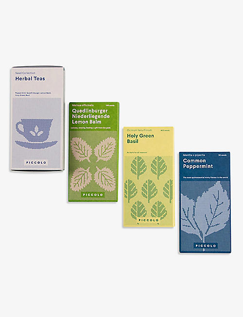 PICCOLO SEEDS: Herbal Teas seed collection