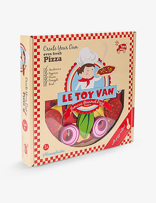 LE TOY VAN: Pizza wooden toy set