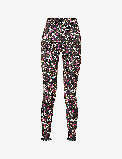 THE UPSIDE: Gardenia mid-rise stretch-jersey leggings