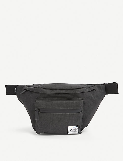 HERSCHEL SUPPLY CO: Seventeen logo-patch woven bumbag