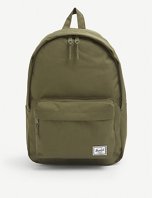 HERSCHEL SUPPLY CO: Classic logo-patch woven backpack
