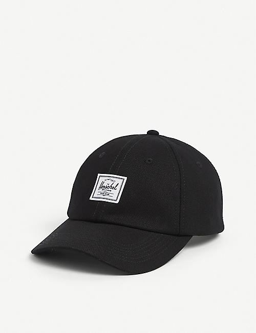 HERSCHEL SUPPLY CO: Her Sylas logo-embroidered cotton cap